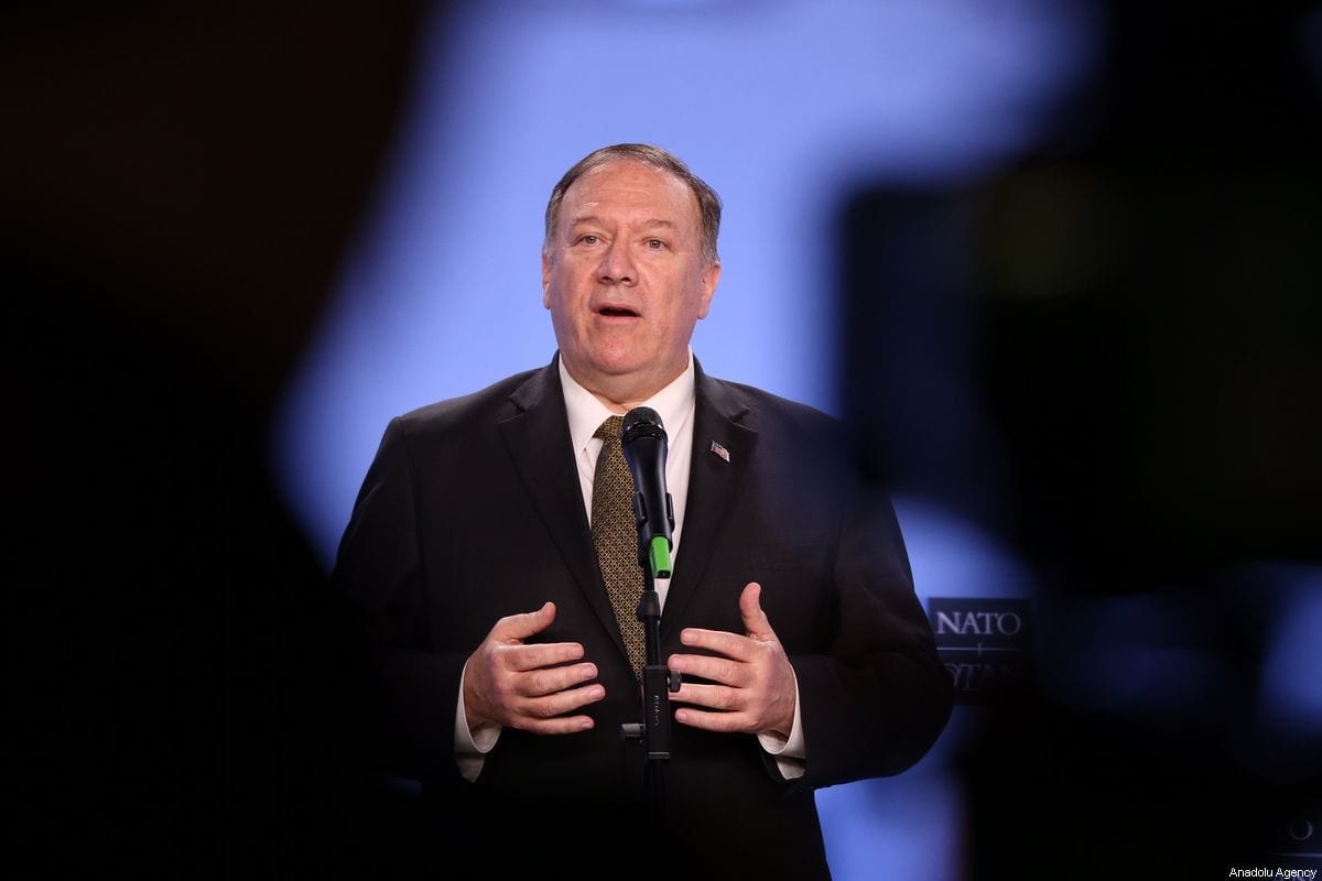 Pompeo announces softer US stance on Israel's Jewish settlements