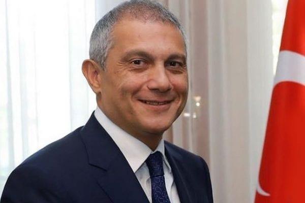 Turkish Ambassador to the UK Umit Yalcin [Twitter]