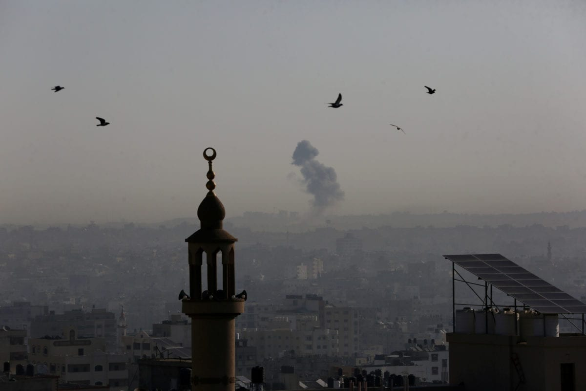 Will the ongoing tension between Israel and Gaza end tonight?