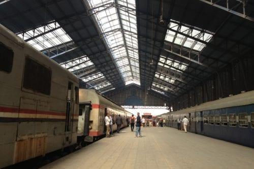 Misr station, Alexandria, Egypt [Wikicommons]