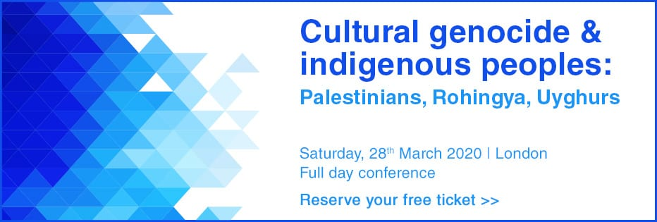 MEMO Conference: Cultural genocide and indigenous peoples: Palestinians, Rohingya, Uyghurs