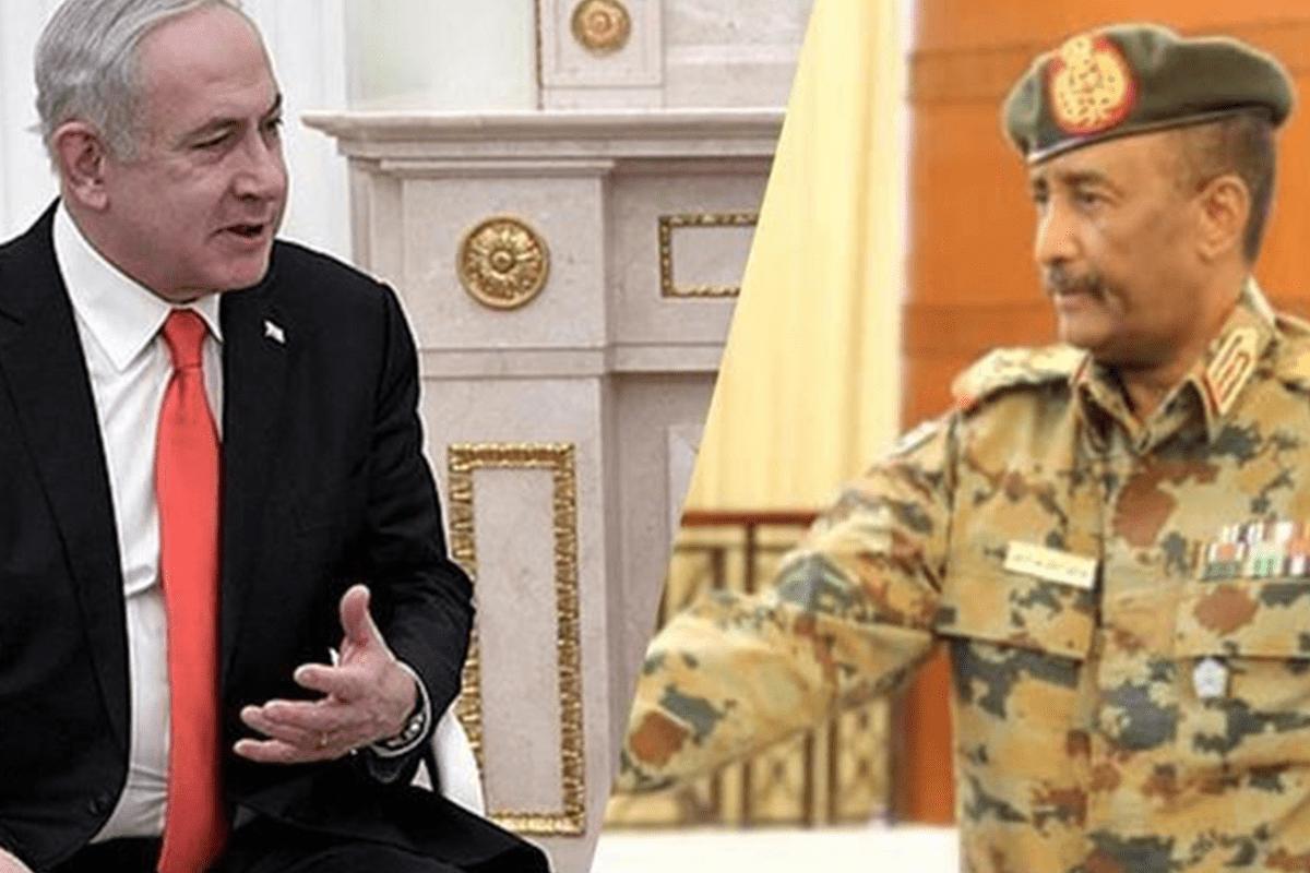 Israeli Prime Minister Benjamin Netanyahu held talks with Abdel Fattah al-Burhan, head of Sudan's sovereign council [AA]