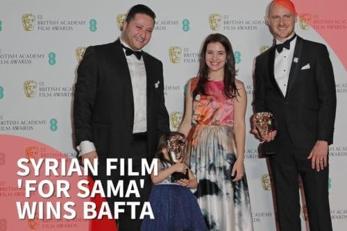Thumbnail: Syria film 'For Sama' wins BAFTA award