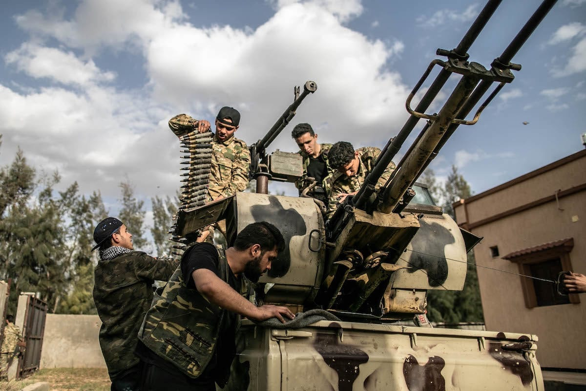 Libya's Syria connection is being reactivated