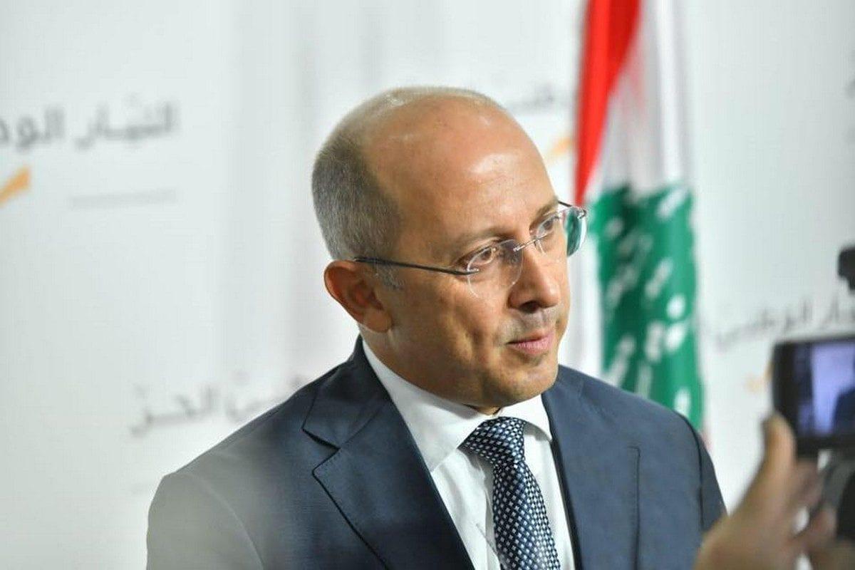 Lebanese MP Alain Aoun, 7 October 2018 [Alain Aoun/Facebook]