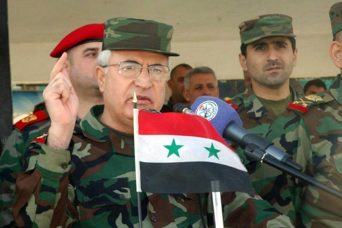 Syria's Defense Minister Imad Ali Abdullah Ayoub