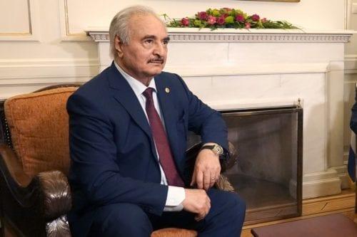 Libyan Field Marshal Khalifa Haftar, 17 January 2020 [Ministry of Foreign Affairs/Flickr]