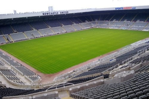 St James' Park, home of Newcastle United FC [Flickr]