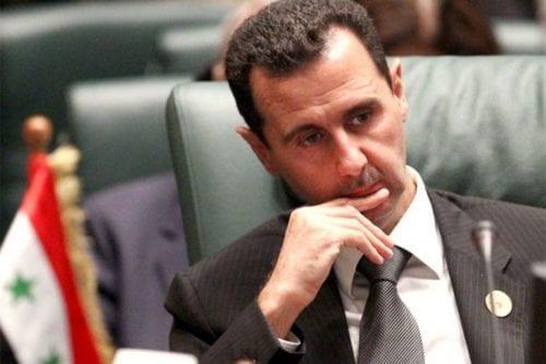 Syrian President Bashar Al-Assad, 15 April 2016