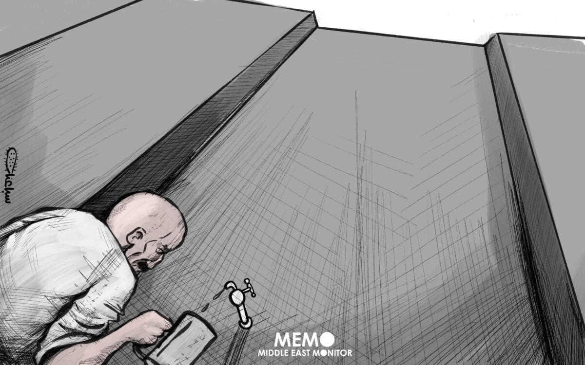 Never-ending fight between Egypt/Ethiopia and Sudan over the Renaissance Dam - Cartoon [Sabaaneh/MiddleEastMonitor]