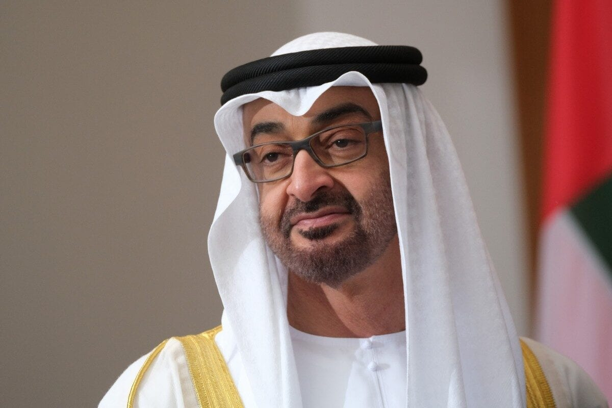 Abu Dhabi's Crown Prince Mohammed Bin Zayed in Berlin, Germany on 11 June 2019 [Sean Gallup/Getty Images]