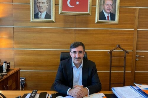 Former Turkish Deputy Prime Minister Cevdet Yilmaz