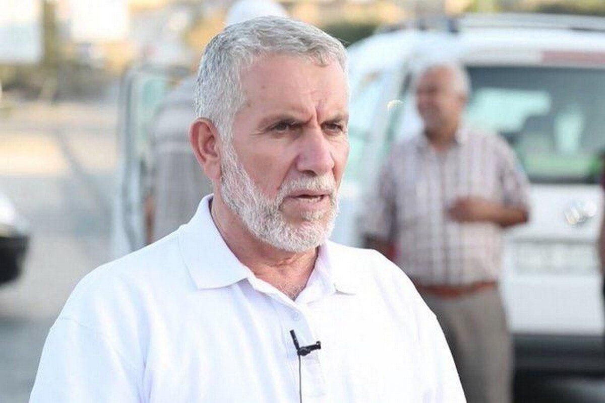 Hamas official Jamal Al-Tawil in Gaza, 15 July 2019 [Twiter]