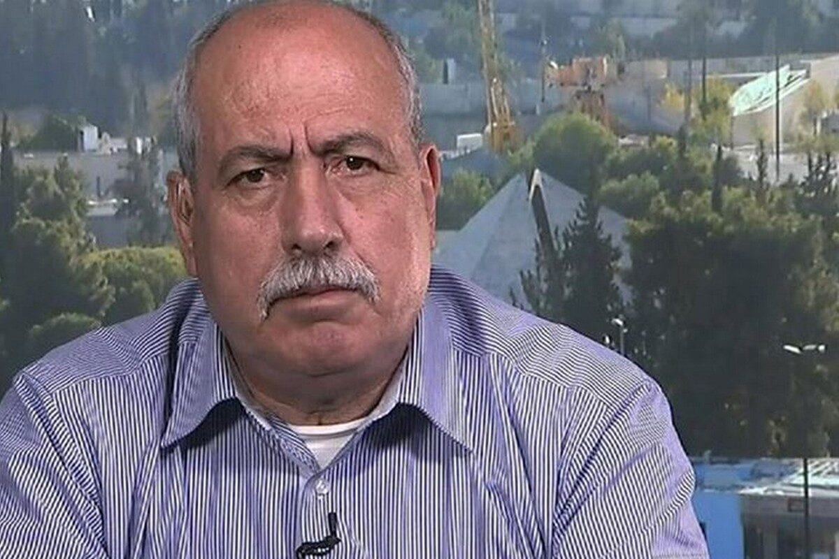Khalil Tafakji, head of the maps department at the Arab Studies Society in Jerusalem, 2 March 2020 [Twitter]