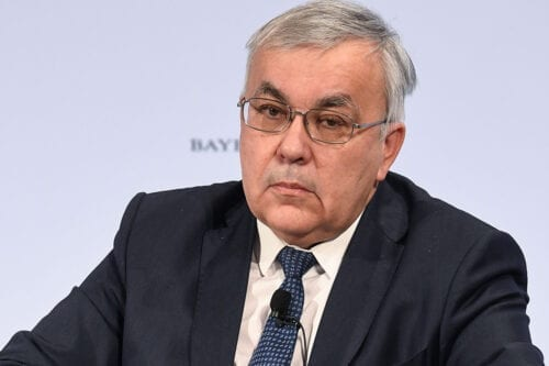 Russian Deputy Foreign Minister Sergey Vershinin in Germany on 17 February 2019 [CHRISTOF STACHE/AFP/Getty Images]