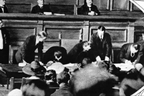 Signing of Treaty of Lausanne [Wikipedia]