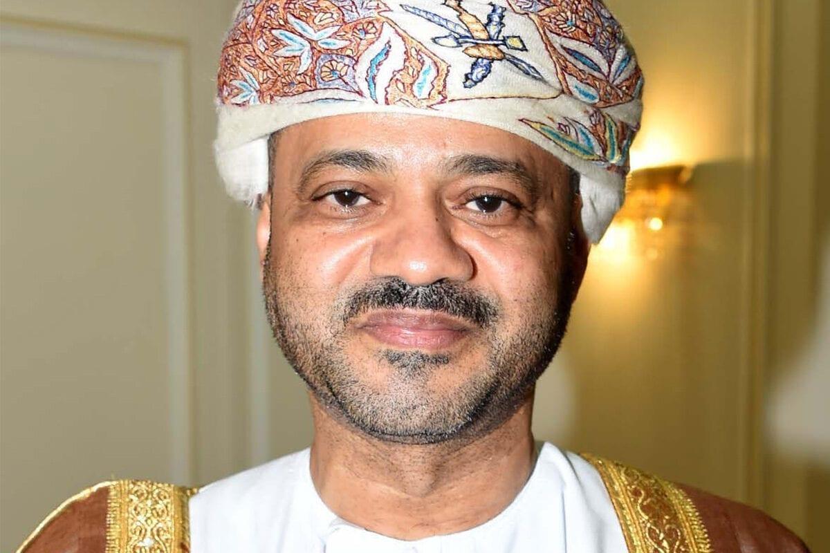 Oman's foreign minister Badr Al-Busaidi, 19 August 2020 [Cinzia_Bianco/Twitter]