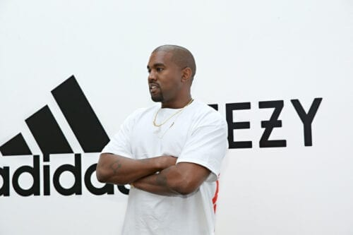 Kanye West at Milk Studios on June 28, 2016 in Hollywood, California. [Jonathan Leibson/Getty Images for ADIDAS]