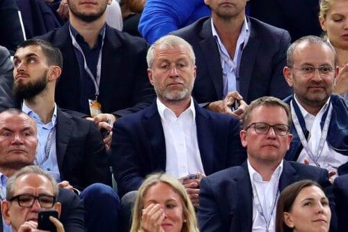 BAKU, AZERBAIJAN - MAY 29: Owner of Chelsea Roman Abramovich watches the action during the UEFA Europa League Final between Chelsea and Arsenal at Baku Olimpiya Stadionu on May 29, 2019 in Baku, Azerbaijan. (Photo by Chris Brunskill/Fantasista/Getty Images)