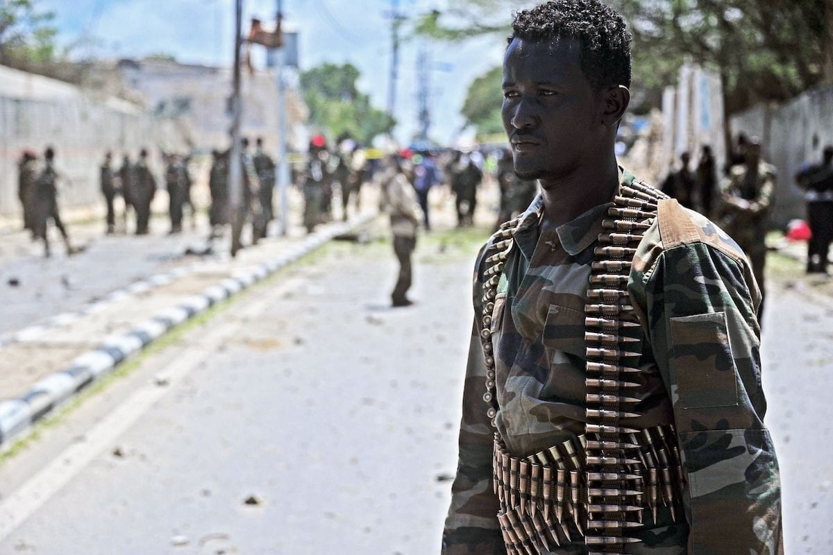 6 Somali special forces soldiers killed in IED attack