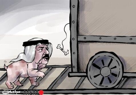 Israel, Bahrain fully normalise diplomatic relations - Cartoon [Sabaaneh/MiddleEastMonitor]