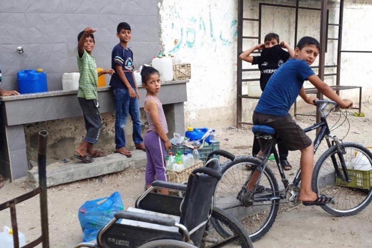 Strict measures are in place to tackle the Covid-19 crisis in Gaza, 1 September 2020 [Hasan Eslayeh]