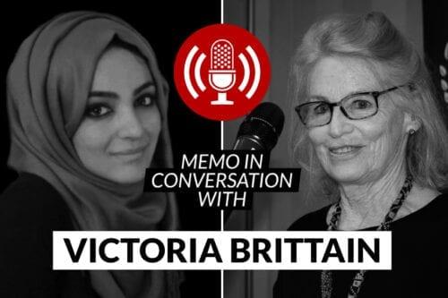 MEMO in conversation with Victoria Brittain