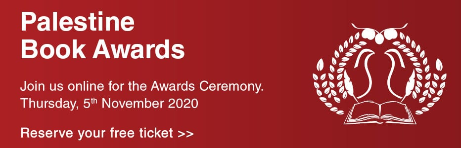 Middle East Monitor Webinar - Palestine Book Awards 2020 - Join the Awards Ceremony - Book your tickets - 5 November 2020