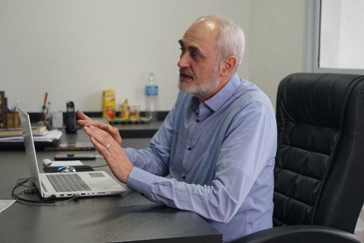 Jehad Hamada, the President of the Latin-Arab Centre for Strategic Studies, Sao Paulo, Brazil (Photo: Eman Abusidu)