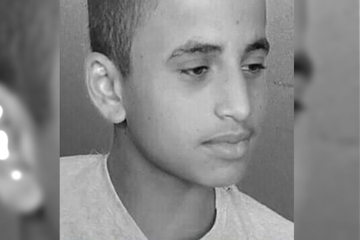 Eid Muhammad Al-Qalji, a primary school student in North Sinai died after a landmine exploded in Egypt on October 2020 [WeRecordEN/Twitter]