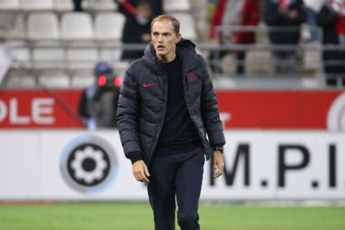 Coach of PSG Thomas Tuchel on September 27, 2020 in Reims, France [Jean Catuffe/Getty Images]