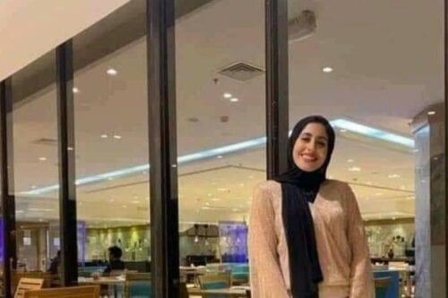 A 24-year-old Egyptian Mariam Salah [RadwaElSherbiny/Twitter]