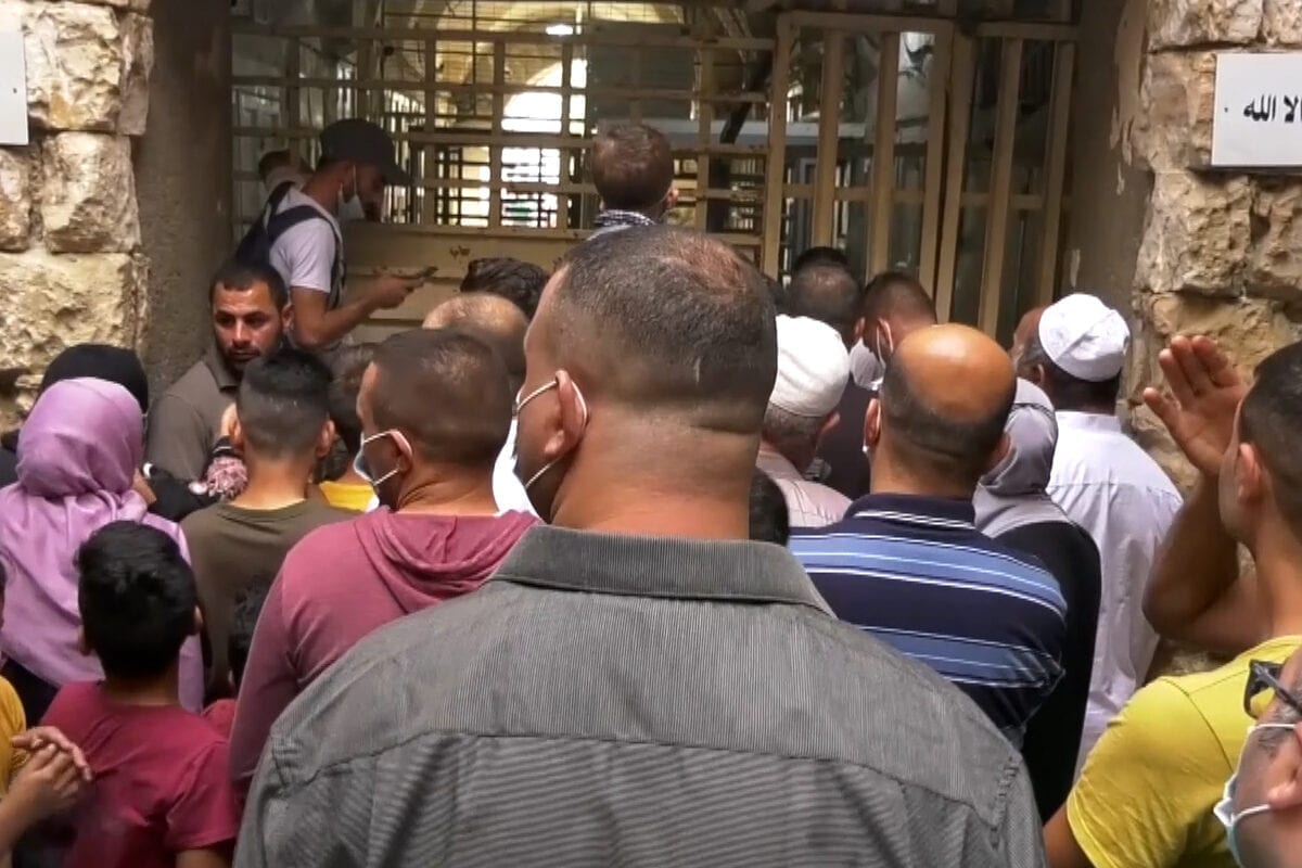 Israel stops Palestinians from going to Ibrahimi Mosque to celebrate Prophet's birthday