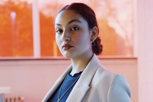 Anja Saleh, Founder of TAVII- Portrait by Muhammad Salah Abdulaziz