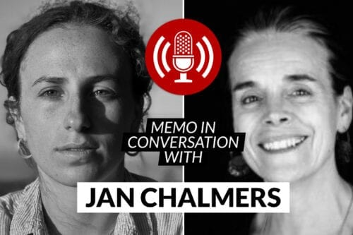 MEMO in conversation with Jan Chalmers