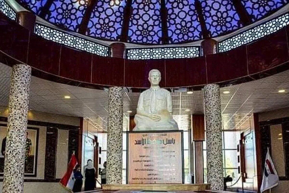 Museum dedicated to President Bashar Al-Assad's deceased brother Bassel Al-Assad, 18 November 2020 [rallaf/Twitter]
