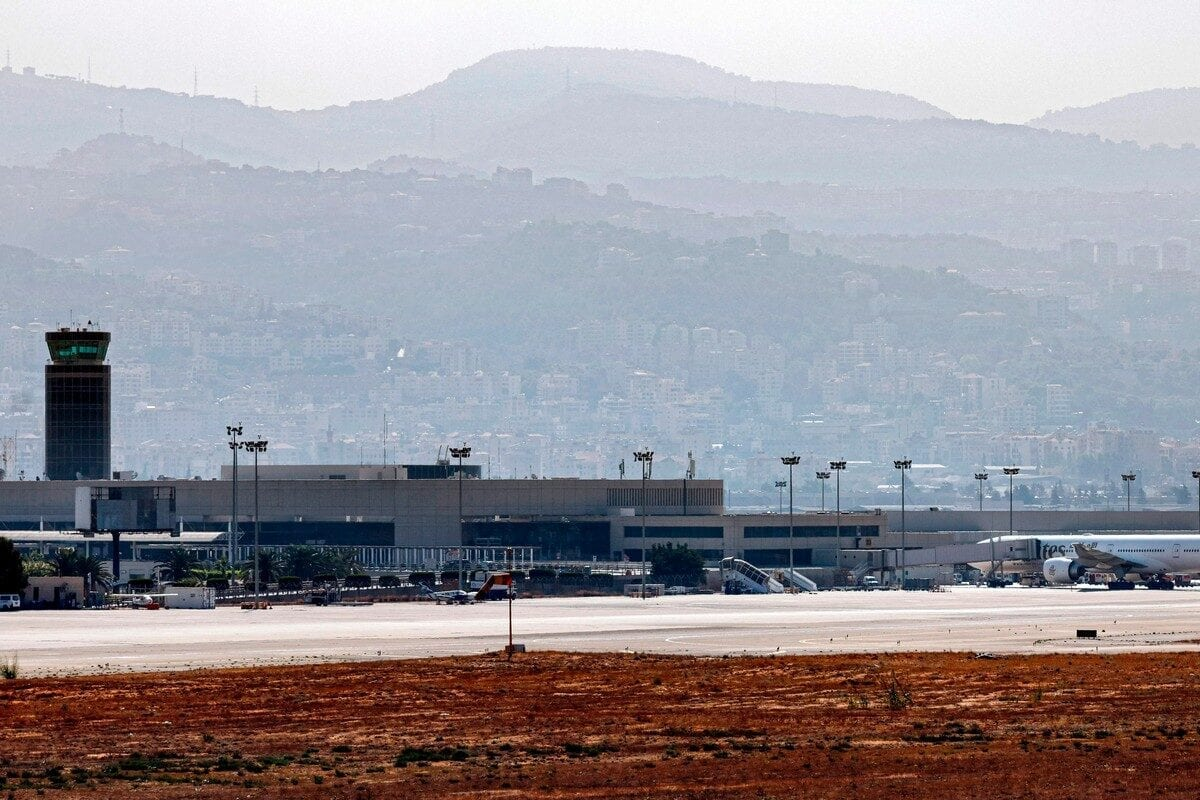 Lebanon's Beirut International Airport in Beirut, Lebanon on 27 October 2020 [THOMAS COEX/AFP/Getty Images]