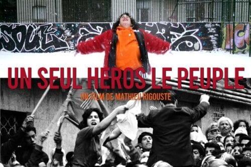 Un Seul Heros, le Peuple, poster of the documentary by Mathieu Rigouste [unseulheroslepeuple.org/dossier de presse]