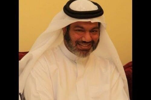 Dr Mahmoud Al-Jaidah, Qatari citizen, who was in detention in Abu Dhabi, UAE 2013 [CAGE/YouTube]
