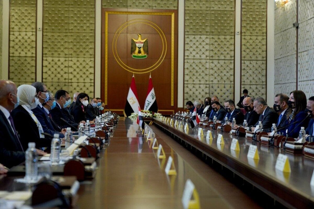 Egypt and Iraq signed agreements to enhance bilateral ties