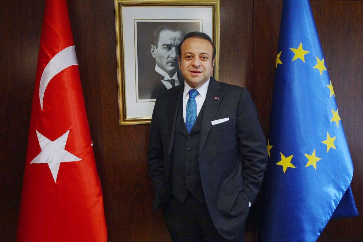 'Mankind's greatest peace project needs Turkey,' says Ambassador