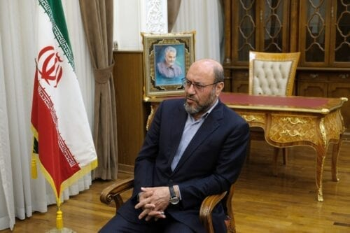 Brigadier General Hussein Dehghan Tehran, Iran on 19 February 2020 [Kaveh Kazemi/Getty Images]
