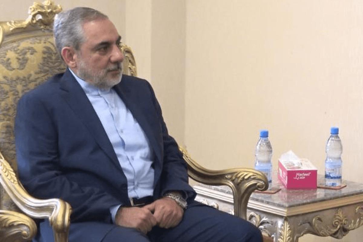 Iran Ambassador to Yemen, Hasan Irlu [Hasan Irlu/Twitter]