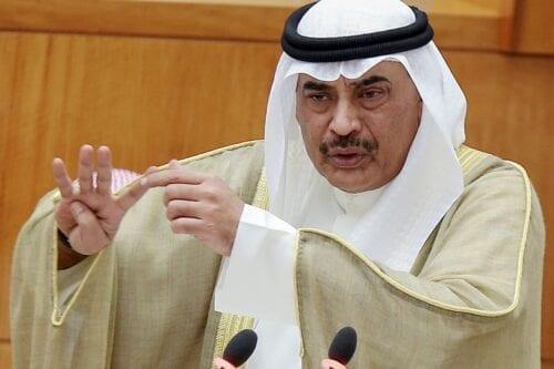 Kuwaiti Prime Minister Subah Al-Khalid Al-Subah in Kuwait City on 22 September 2020 [YASSER AL-ZAYYAT/AFP/Getty Images]