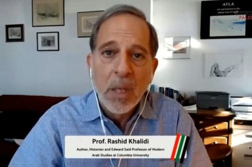 Professor Rashid Khalidi's Hundred Years' War on Palestine – Interview with Association of Student Activism for Palestine