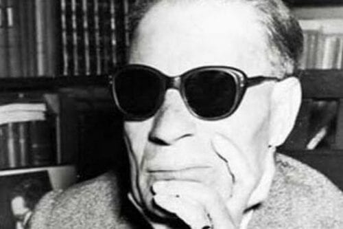 Taha Hussein, one of the most influential 20th-century Egyptian writers and intellectuals [Wikpedia]