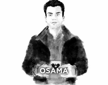 Osama Joda by Austrian artist Jamal Al-Khatib (Courtesy of Osama Joda)