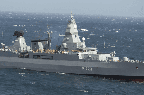 German frigate the Hamburg [Wikipedia]