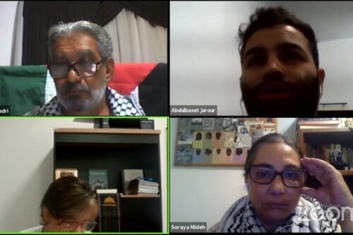 A week of solidarity events was launched in Brazil yesterday to coincide with the International Day of Solidarity with the Palestinian People