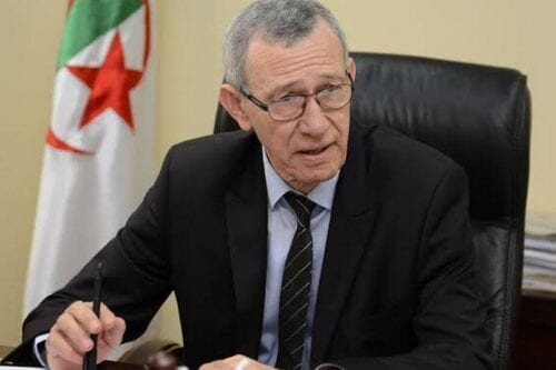 Algeria's Minister of Communication and government spokesman Ammar Belhimer